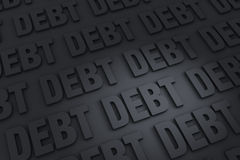 Endless Debt Royalty Free Stock Photo