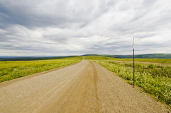 Endless Dempster Highway Stock Images