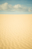 Endless desert Royalty Free Stock Photos