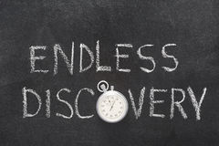 Endless discovery watch Royalty Free Stock Images