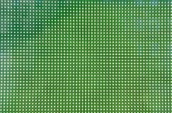 Endless dots. Lines of green and white dots Stock Photos
