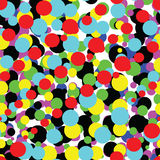 Endless dots pattern Royalty Free Stock Image