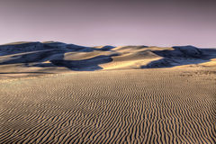 Endless Dunes Stock Photography