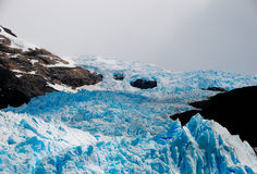 Endless glacier in Patagonia Royalty Free Stock Image