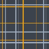 Seamless gray Scottish traditional cell pattern stock illustration