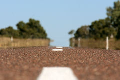 Endless Highway , Austr Stock Photo