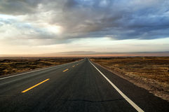 Endless highway Royalty Free Stock Images