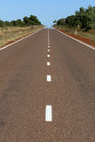 Endless Highway in Outback Stock Photos