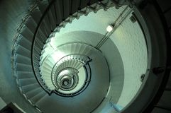 Endless Lighthouse Spiral Staircase Royalty Free Stock Images