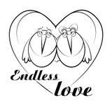 endless love royalty ilustracja