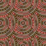Endless mandala pattern. Design, abstract art Royalty Free Stock Photo