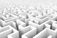 Endless maze background Royalty Free Stock Photography
