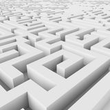 Endless maze Stock Photo