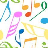 Endless music pattern stock illustration