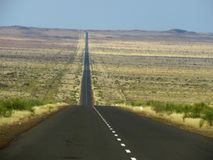 Endless Namibian vistas stock images