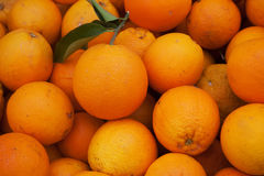 Endless oranges Stock Photography