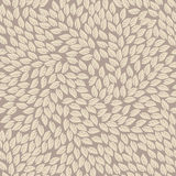 Endless pattern with ivory leaves Royalty Free Stock Photography