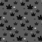 Endless pattern with maple leaves on purple background can be used for linen, tile, design fabric, web pages, cover and. More creative designs. eps 10 Royalty Free Stock Photos