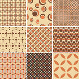 Endless pattern.Template for design and decoration. Royalty Free Stock Photos
