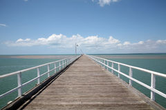 Endless Pier Stock Image
