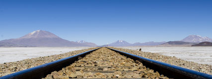 Endless railroads Royalty Free Stock Photography