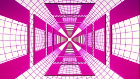 Endless retro style cyber grid tunnel effect graphics illustration background new quality futuristic vintage cool nice stock photography