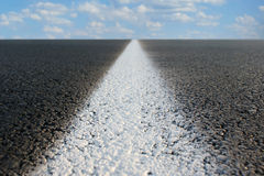 Endless Road. Abstract view of a road stretching off to infinity Stock Photography