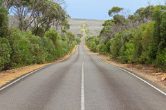 Endless road Stock Image