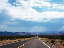 Free Endless Road In California Royalty Free Stock Photos - 11801438