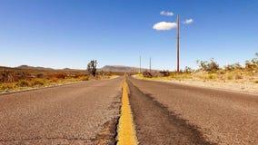Endless road Nevada desert stock video
