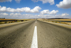 Endless road to nowhere Stock Photography