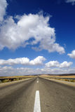 Endless road to nowhere Royalty Free Stock Photography