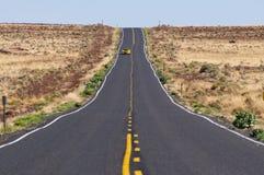 Endless roads in Arizona desert, USA Stock Photography