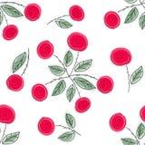 Endless rose pattern Stock Photo
