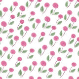 Endless rose pattern Stock Images
