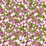 Endless round pattern. Based on Traditional Japanese Embroidery. Stock Image