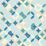 Endless round pattern. Based on Traditional Japanese Embroidery. Royalty Free Stock Photography