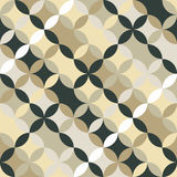 Endless round pattern. Based on Traditional Japanese Embroidery. Endless round background. Based on Traditional Japanese Embroidery. Abstract Seamless royalty free illustration