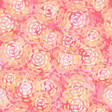 Endless round pink spots. Stock Photography