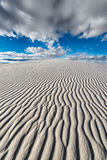 Endless sand ripples Royalty Free Stock Image