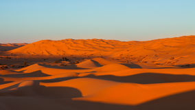 Endless Sand Sea - Sahara Desert, Libya Stock Photo