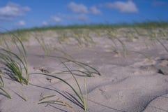 Endless sandy beach Germany Stock Photos