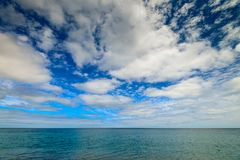 Endless sea view from Second Valley, South Australia Stock Photography