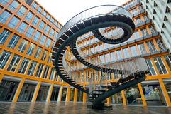 Free Endless Steel Stairway Royalty Free Stock Photos - 64520208