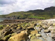 Endless stones. Muckross head, Kilcar, Co Donegal, Ireland Royalty Free Stock Photos