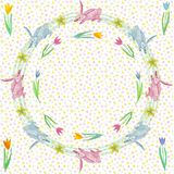 Endless texture for spring design, decoration, greeting cards royalty free stock images