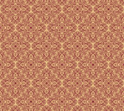 Endless texture with stylized patterned  mandala in Indian style. Royalty Free Stock Photos