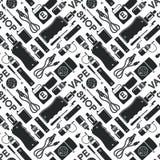Endless vape background Stock Images