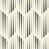 Endless Vertical Line Wallpaper. Abstract Stripe Ornament. Vector Zig Zag Background Stock Image