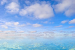 Endless water Stock Photography